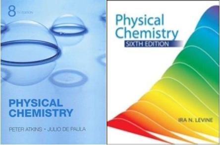 کتاب های شیمی فیزیک لواین و شیمی فیزیک اتکینز بهمراه حل المسائل